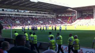 Barnsley Relegate Sheffield Utd (Highlights, Final Whistle, Chants)