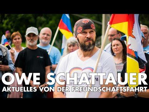 Druschba-Freundschaftsfahrt Russland 2017 - Interview mit Owe Schattauer
