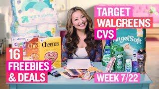 ★ TOP 16 Deals & FREEBIES at Target, Walgreens & CVS (Week 7/22 – 7/28)