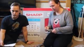 """Sharp TV LC-43CFE6451K 43"""" Smart TV"""