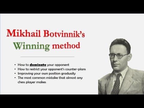 Mikhail Botvinnik's winning method