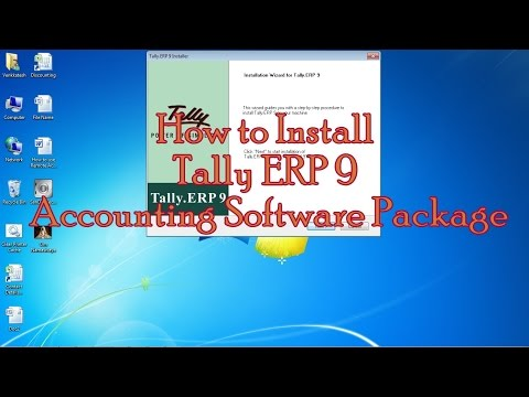 How To Install Tally.ERP 9 Accounting Software In Windows OS