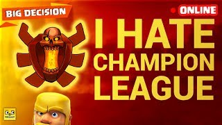 🔴 Clash of Clans Live. Choosing the best league. COC Clashers