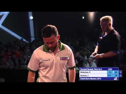 Dutch Darts Masters 2014 Second Round  Paul Nicholson v Jarkko Komula