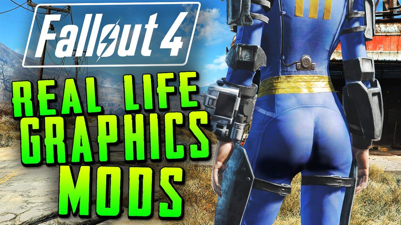 Best Fo4 Mods 2020 Fallout 4 | Real Life Graphics Mod!!   BEST Next Gen Mods (1080p