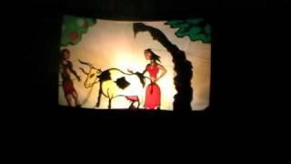 Теневой Театр Солнечные Часы Кошка, которая гуляла сама по себе
