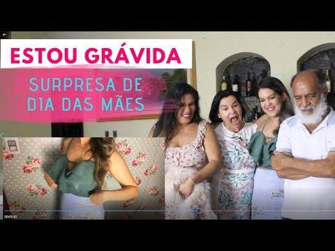 ESTOU GRÁVIDA   REAÇÃO DA FAMÍLIA   Dia da Mães - Mari Barreto