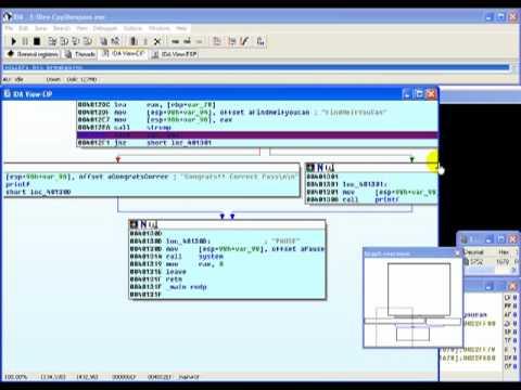 Reverse Engineering 101 ( Using IDA to break password protections )