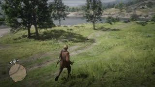 GAME ENDING A DUDE IN RED DEAD ONLINE