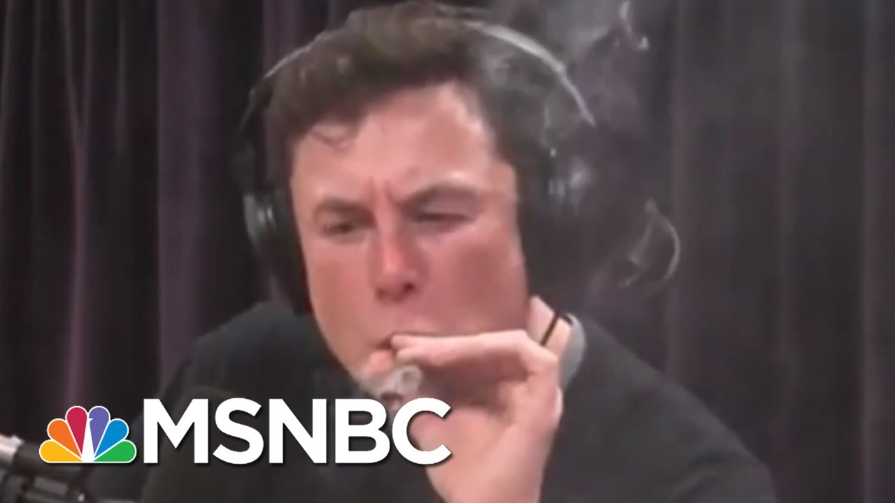 Elon Musk makes cannabis joke on Twitter as Tesla's stock jumps ...