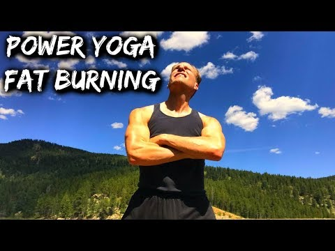 POWER YOGA - HOT FAT BURNING Workout - Sean Vigue Fitness