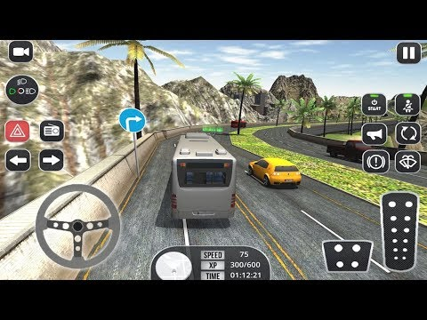 Bus Simulator 2K17 Coach Bus Driving Parking 3D (by Mega Gamers Production) Android Gameplay [HD]