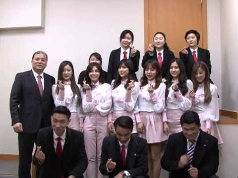 150223 Apink with Police escort student of ASEA Aviation vocational Training college