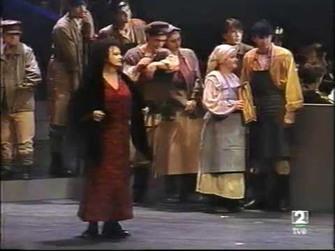 Shostakovich: Lady Macbeth of Mtsensk. Rostropovich. (Part 1 of 3) 2000 Subtítulos en español.