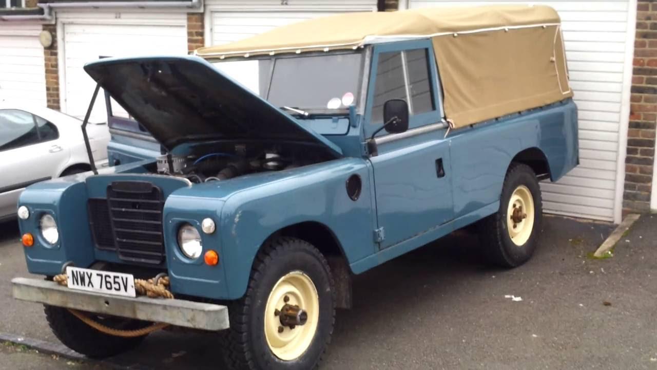 Land Rover Series 3 Diesel Engine Youtube