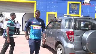 Sri Lanka team departure to Dambulla for Indian ODIs