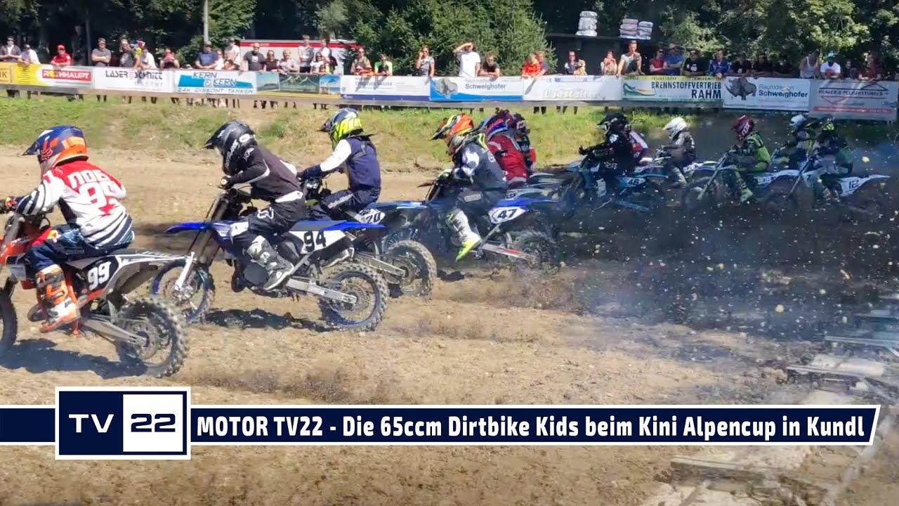 MOTOR TV22: Die 65ccm Dirt Bike Kids  beim KTM Kini Alpencup in Kundl 2021