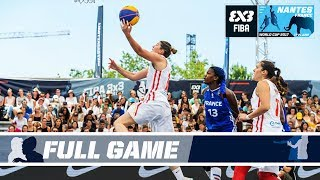 Spain vs France goes down to the Wire! - Full Game - FIBA 3x3 World Cup 2017 thumbnail