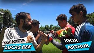 IGOR E BZK VS ARTHUR E LUCANETA! (Campeonato Paulista de Faltas) {BZK}