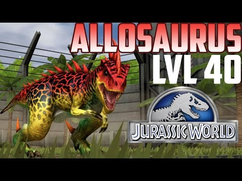 Allosaurus - Jurassic World The Game - Level 40