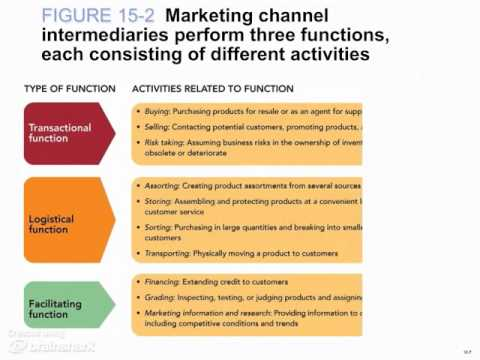 Chapter 15 - Video #1 - Managing Marketing Channels and Supply Chains