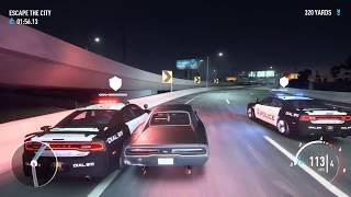 EPIC COP CHASE/NEED FOR SPEED PAYBACK/FORD RAPTOR/DODGE CHARGER/VOLKSWAGON GOLF GTI
