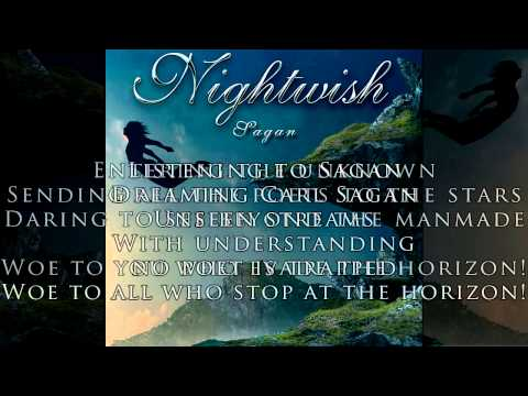 Nightwish - Sagan with Lyrics - New Single 2015