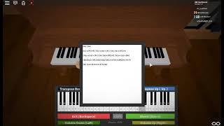 Lovely par Billie Eilish ROBLOX Piano