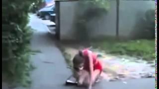 пьяная девушка добирается домой смешно приколы