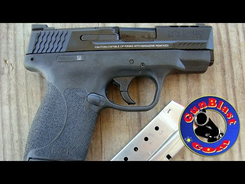 Shooting the Smith & Wesson Performance Center® Ported M&P®45 SHIELD™ Pistol - Gunblast.com