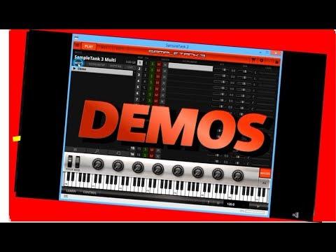 50 démos des sons interne de SampleTank 3 - IK Multimedia