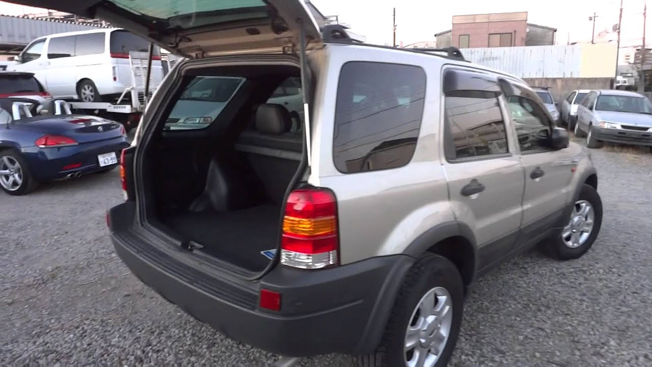 2003 ford escape xlt premium edition like new tokyo japan