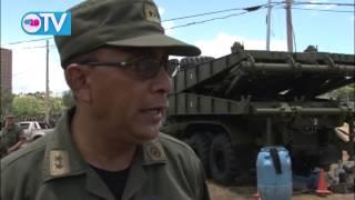 Ejército de Nicaragua expondrá sus técnicas medios militares en el marco de su 35 aniversario