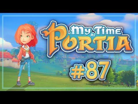 Прохождение My Time At Portia #87 Подозрительные стражи. Второй ключ