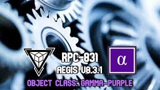 ЕКП-831 егідою двигуном V8.3.1 | гамма-фіолетовий | механічний / премудрих небезпеки
