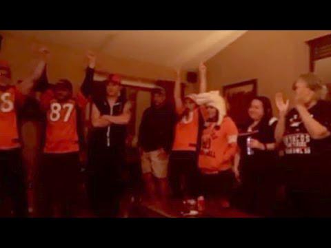 Super Bowl 50 - Fan Reactions COMPILATION! - Carolina Panthers vs Denver Broncos (02.07.2016)