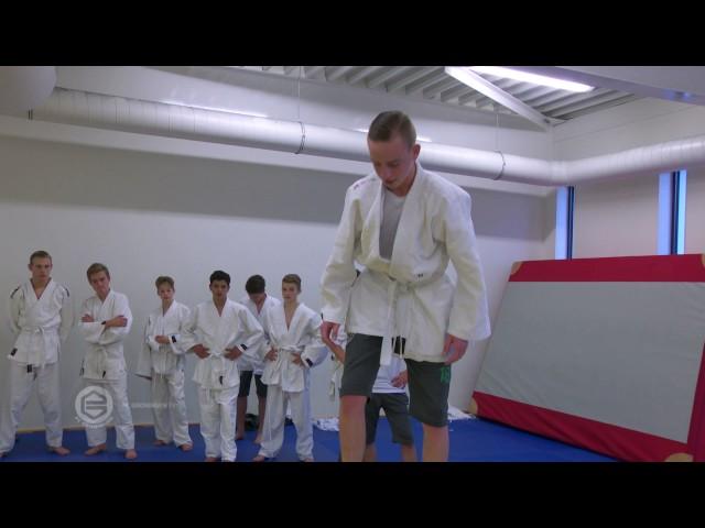 FC Groningen onder 15 op de judomat