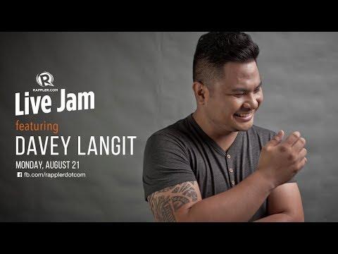 Rappler Live Jam: Davey Langit
