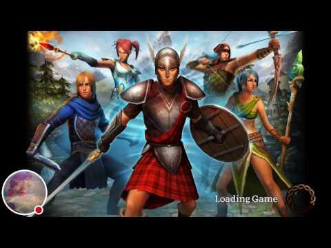 MMORPG Celtic Heroes Mobile Openworld Gameplay