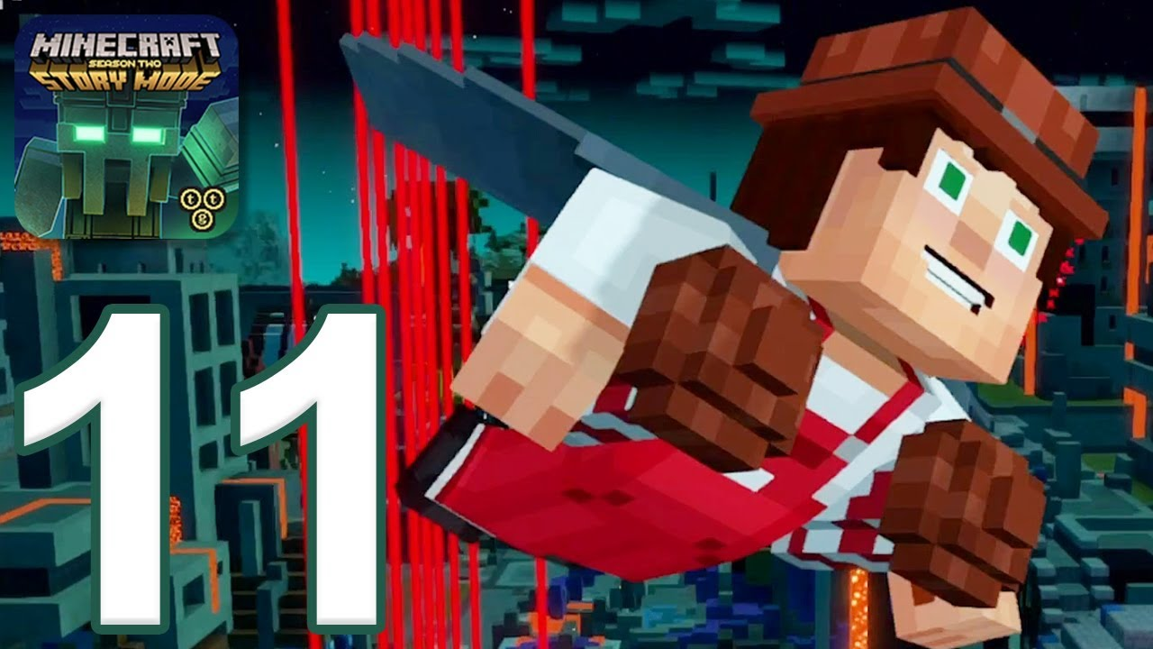скачать эпизод 2 minecraft story mode на андроид #2