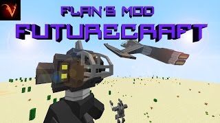 Minecraft | REVIEW DEL FLANS MOD ~ FUTURECRAFT~ MC 1.7.x, 1.6.4