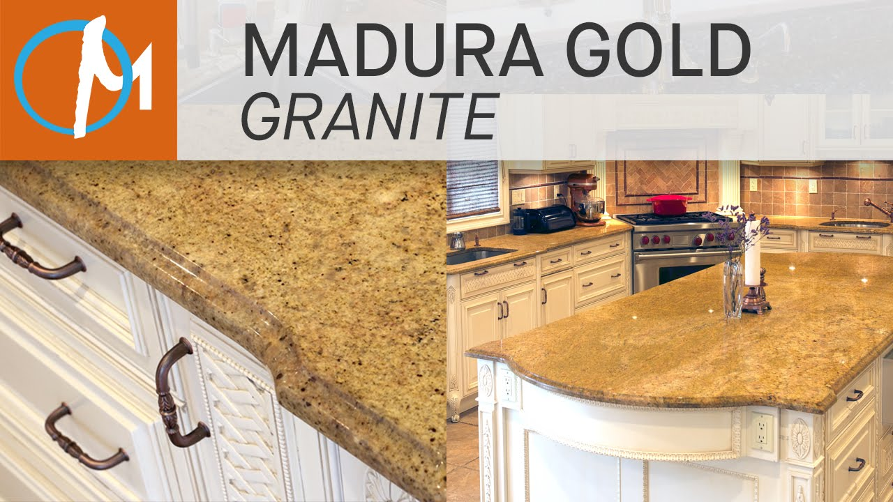 Madura Gold Granite Countertops Marble Com Youtube