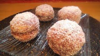 Boule noix de coco confiture par Sucré Salé