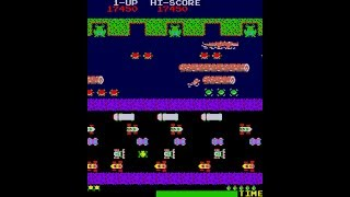 Arcade Longplay - Frogger