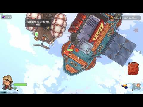 Black Skylands Early Access PC gameplay - Learning to fly |