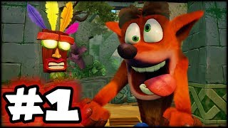 Crash Bandicoot N'Sane Trilogy - Part 1 - This Game is EASY!
