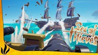 BATAILLE ÉPIQUE AVEC LE GROS NAVIRE DE 4 ! 4V4V2V2 ! (Sea of Thieves #7 Partie 2) thumbnail