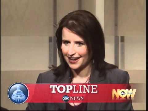 """Christina Bellantoni discusses the elusive SpeakerNancy Pelosi on """"Top Line."""" (circa 2010)"""