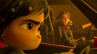 Ralph breaks the internet - Vanellope vs Shank