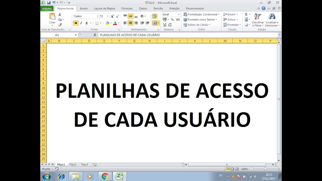 Login Com Multi Usuario Em Excel Vba